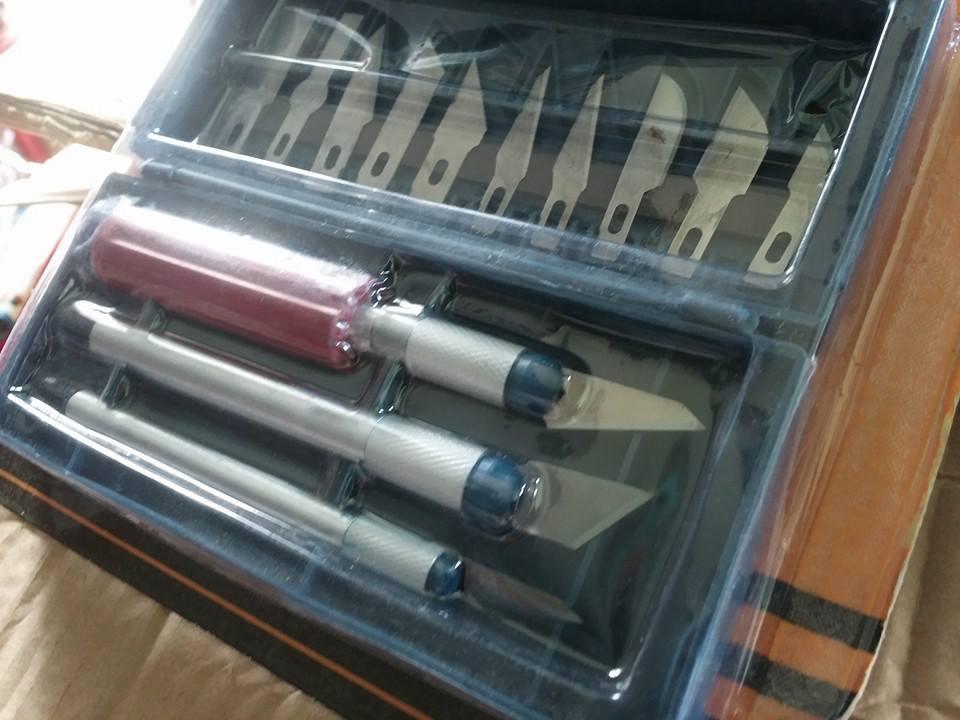 dao cắt khắc giấy